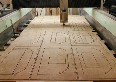 frézovanie dreva a mäkkých materiálov